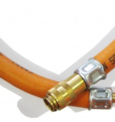 MFX1203 PROPANE GAS HOSE INCL. QUICK CONNECTOR MALE/FEMALE 10M
