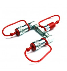 MFX1112 CO2 SPLITTER (1 BOTTLE - 2 DEVICES)