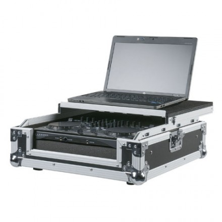 Universal case for 2 channel DJ Controller