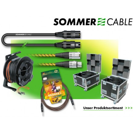 Cable DMX sommer cables