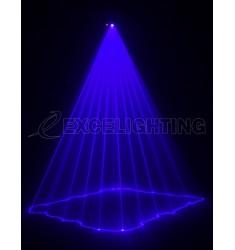 Laser bleu 450mW B450 Dmx