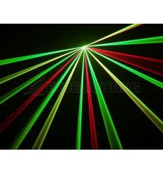 Laser multicolore RGY200 DMX
