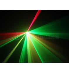 Laser multicolore 3D 250mW RGY250 DMX 3D