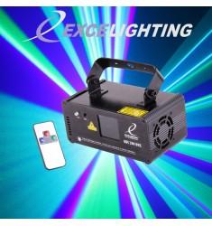 Laser tricolore GBC 200 DMX