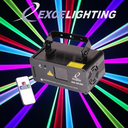 Laser multicolore RGB400 DMX