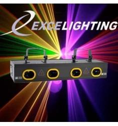 Laser RGPY de 450 mW