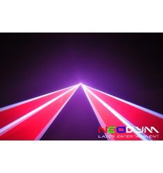 Neodym laser RGB 3w